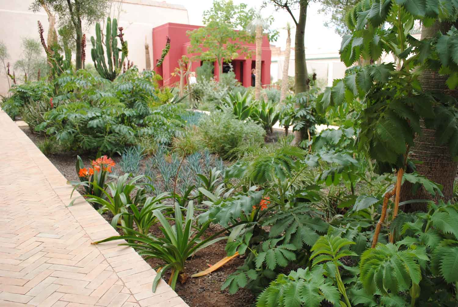 The Mood Changes As You Move Through To The Islamic Garden. This Is A  Typical Riad Garden In Form U2013 Roughly Rectangular, Enclosed, With Pavilions  At Either ...